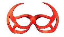 Red Devil Eye Mask Demon Devil Satan Halloween Fancy Dress