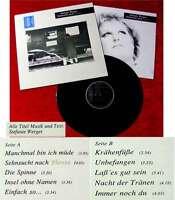 LP Stefanie Werger: Sehnsucht nach Florenz (1987)