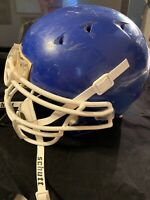 Schutt Football Helmet Youth Medium Dna Recruit. Blue