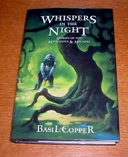 BASIL COPPER WHISPERS IN THE NIGHT FEDOGAN BREMER ARKHAM HOUSE H.P. LOVECRAFT