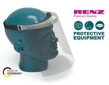 RENZ Gesichtsschutz Spuckschutz transparent, mit Stirnpolsterung, Zertifiziert