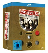 Warehouse 13 - Die komplette Serie - Staffel/Season 1+2+3+4+5 # 15-BLU-RAY-NEU