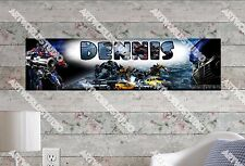 Personalized/Customized Transformers Movie #2 Name Poster Wall Decoration Banner