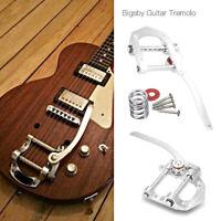 B5 Guitar Tremolo Vibrato Bridge Tailpiece for SG LP Electric Guitar Tool Silver