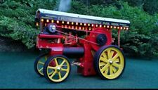 Wilesco D409 Showmans COLOURED Lighting Rails Special version with Battery Box.