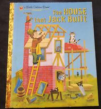 LGB Little Golden Book The House that Jack Built HB 2008