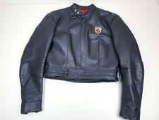 Vintage Harro Leather Motorjacket Lederjacke Gr 46 Chopper Biker Jacket