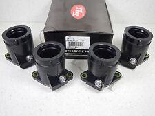 YAMAHA 89-90 FZR600 90-99 FZR600R NEW K&L CARBURETOR INTAKE BOOT SET 11-4233