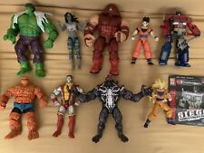 Marvel Legends Select Universe Dragonball Stars Transformers Figures Set Lot