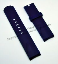 Comp. Corum Admiral's Cup 24mm Navy Blue Rubber Watch Band-Strap