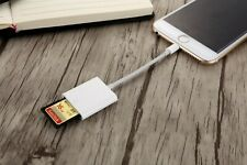 ios 13  8pin to SD Card Camera Reader Adapter Cable for iphone x max 8 7