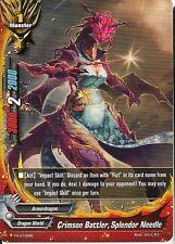 4x Crimson Battler, Splendor Needle Buddyfight Promo Rare HOT MINT FREE SHIP