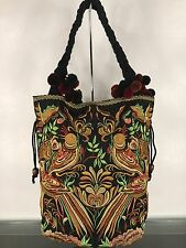 LIST AND BEDROG JOHNNY WAS STYLE TUPELO EMBROIDERED BAG NWOT
