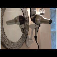 Hair Dryer Holder Wall Mount Blow Dryer Hands Free Styling Bestie.