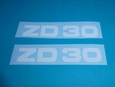 Zündapp ZD 30 Aufkleber Verkleidung Schriftzug Dekor weiß 446-10.132 Typ 446 NOS