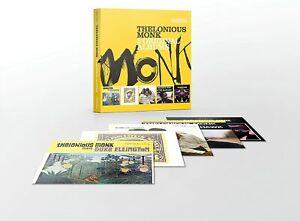 THELONIOUS MONK 5 Original Albums (2016) reissue 5-CD box set NEW/SEALED