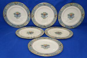 "Lenox Autumn (6) Salad Plates, 8 3/8"" (Box #3)"