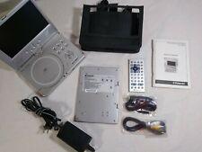 "Polaroid Portable Dvd player Pdv-0820T 8"" w/ Swivel Screen & Accessories - Euc"