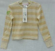Long Sleeve Top pullover XS by American Girl everyday tan (oat) cotton / Spandex