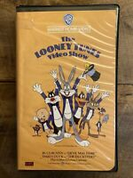 The Looney Tunes Video Show VHS Warner Home Video Clamshell 1985 Cartoon Rare