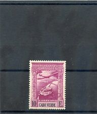 CAPE VERDE Sc C9(SG 315)**VF NH 1938 10E TOP VALUE AIRMAIL $60