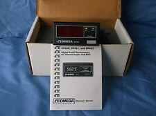 OMEGA DIGITAL PANEL THERMOMETERS RTDS-DP461-RTD