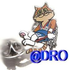 Pin + baloncesto + FIBA em 2005 + mascota #5 + nuevo