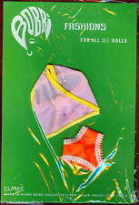 Vintage Bobbi Fashions Doll Underwear Clothes Outfit Fits Barbie NOS 1960s Pink