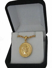 Marcus Aurelius, Philosopher King, Famous Roman Coin Pendant and Chain 26-G)