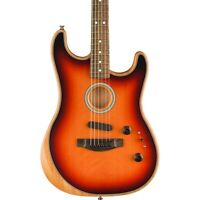 Fender Acoustasonic Stratocaster Acoustic-Electric Guitar 3-Color Sunburst
