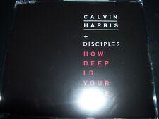 Calvin Harris + Disciples – How Deep Is Your Love CD Single – Like New