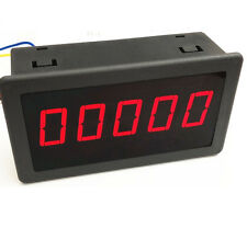"1PCS DC 5V 0.56"" Red LED Digital Counter Meter Count Timer Timing Three Function"