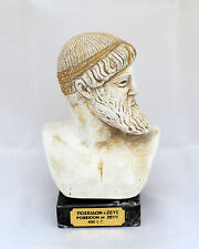 Ancient Greek God Poseidon Or Zeus sculpture statue bust artifact