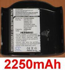 Custodia + Batteria 2250mAh tipo HSTNN-H09C-WL PE2018AS per HP iPAQ rx1950