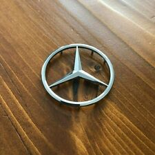 "New - Mercedes-Benz™ M-B w/ Pins Glossy Chrome Star Emblem Badge 2"" 50-51mm AMG"