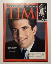 John F Kennedy Junior Commemorative Issue Of Time (July 26, 1999)