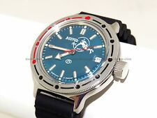 RUSSIAN Military WATCH VOSTOK AMPHIBIA AUTO AMPHIBIAN DIVER 420059. Resin band.