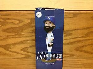 Brian Wilson BEARD HAIR 2014 Los Angeles Dodgers Bobblehead SGA