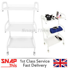 Salon Hairdresser Barber Beauty Trolley Drawers Hair Cart Spa Colouring Wheels