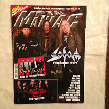 METAL MANIAC 5/2013 SODOM DEEP PURPLE BLACK STAR RIDERS KADAVAR BUD TRIBE FKU