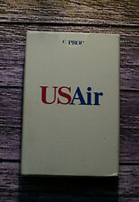 US AIR PLAYING CARDS VINTAGE ADVERTISING DECK OF CARDS AVIATION OPENED AUCT#2869