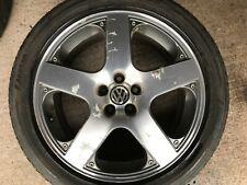 "Genuine OEM VW MK4 Golf 17"" Santa Monica de Rechange Alliage Roue & Pneu 1J0601025J"