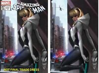 Amazing Spider-Man #47 Jeehyung Lee Gwen Stacy Trade & Virgin Variant Set NM