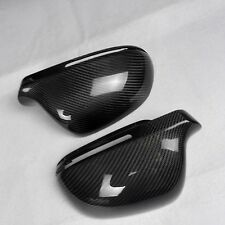 for Audi A3 2008-2010 8P car mirror cover cap ABS + carbon fiber Replacement