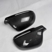 for Audi A3 2008-2010 8P car mirror cover cap ABS + carbon fiber Replacement