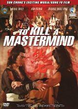 To Kill a Mastermind  -Hong Kong RARE Kung Fu Martial Arts Action movie - NEW
