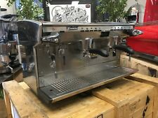 RANCILIO CLASSE 8 2 GROUP ESPRESSO COFFEE MACHINE CREMA COFFEE MAKING CART