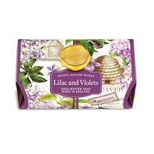 Michel Design Works Bath Soap Bar 9 Oz. - Lilac & Violets