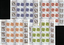 "4 KB. = 16 FULL SET WITH TETE-BECHE & TABS / ROMANIA 2006 ""EFIRO"" MNH"