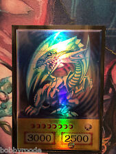Yu Gi Oh! DRAGO BIANCO OCCHI BLU ORICA BLUE EYES WHITE DRAGON FOIL